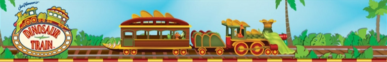 Dinosaur Train, Trenul cu dinozauri, T-Rex Express