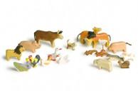 Animale de casa lemn